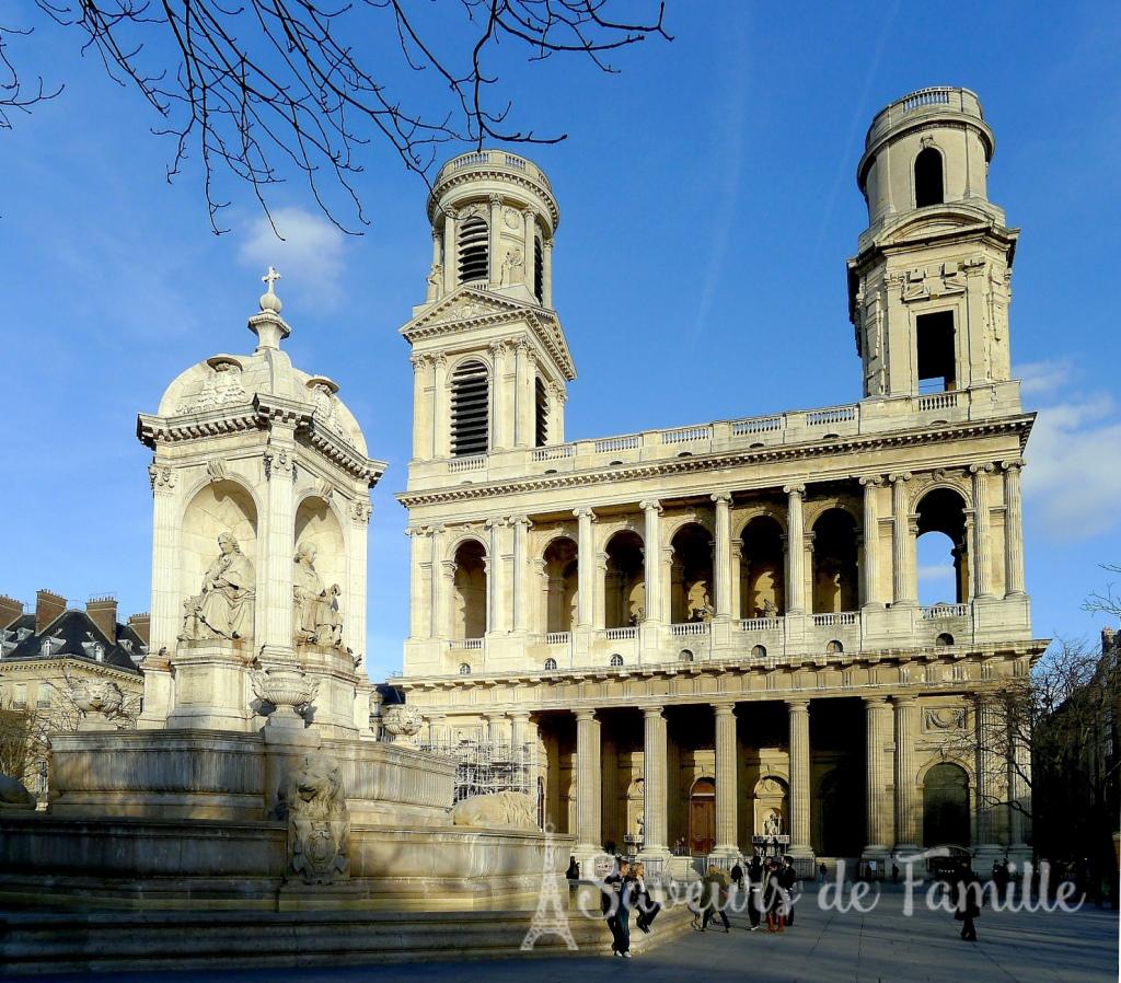 The Church of Saint Sulpice