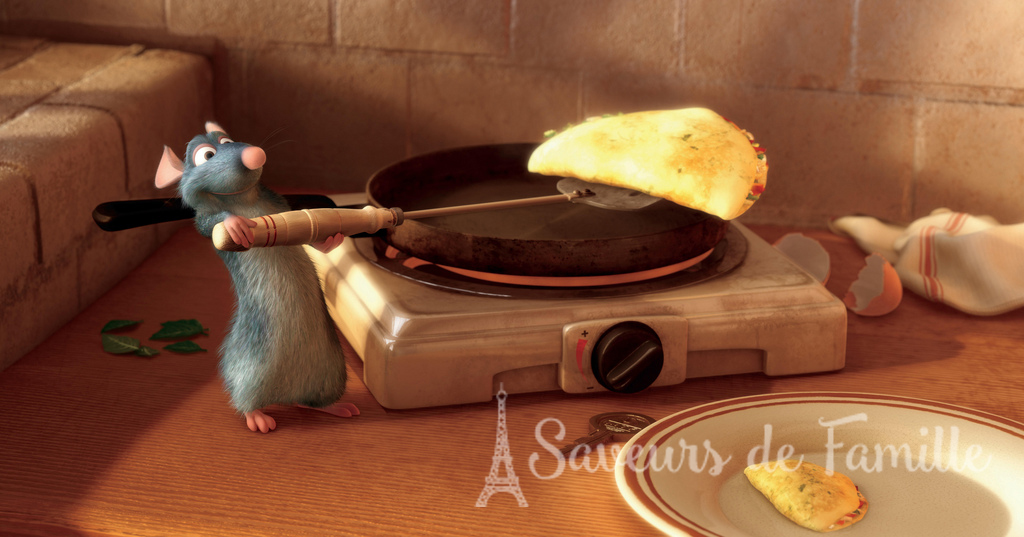 Still image from the animated picture Ratatouille
