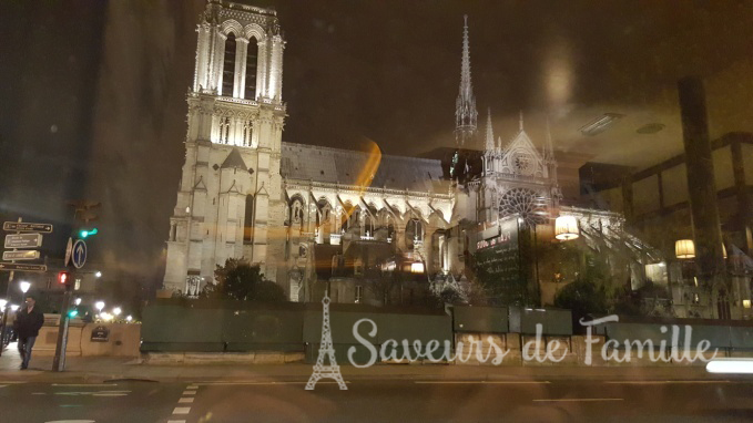 View from the window of Café Panis