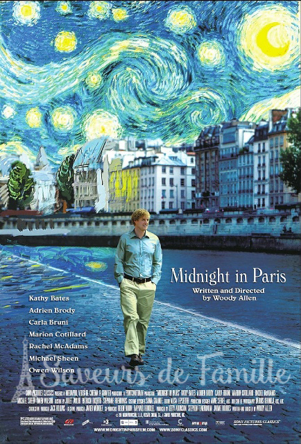 Poster of the Midnight in Paris movie
