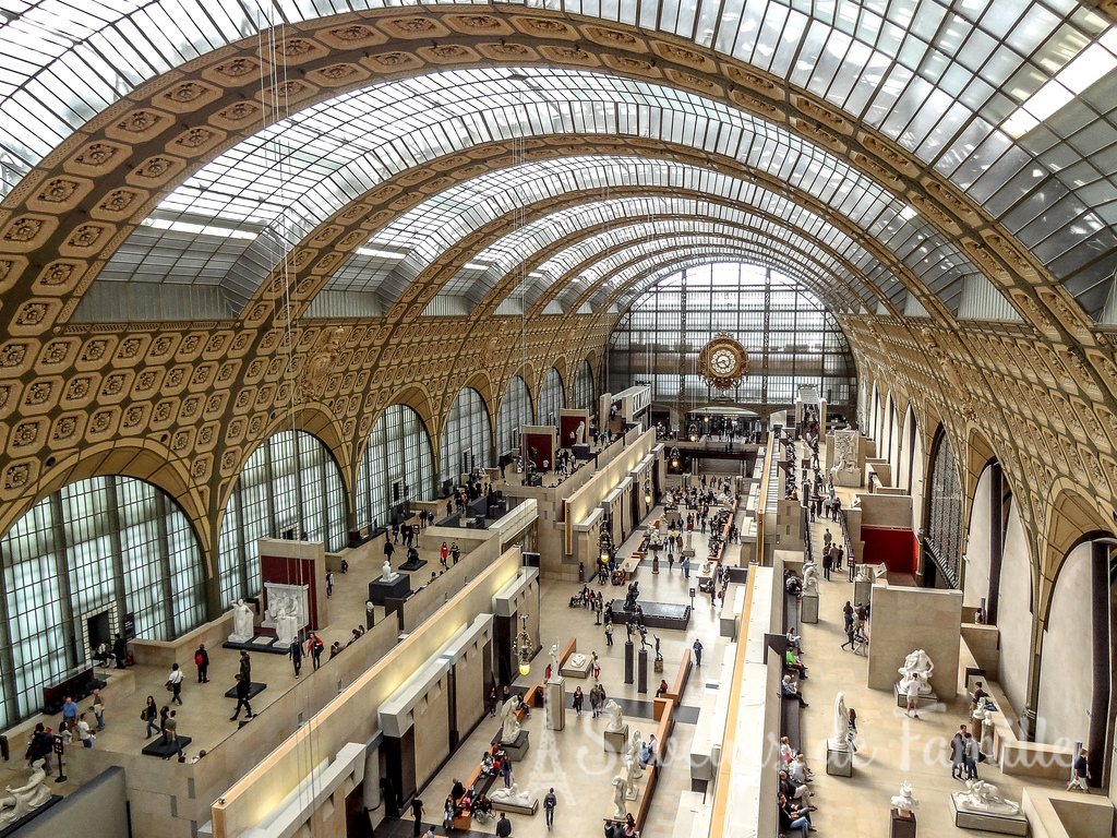 Inside the Musée d'Orsay